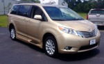 Used 2014 TOYOTA SIENNA LTD